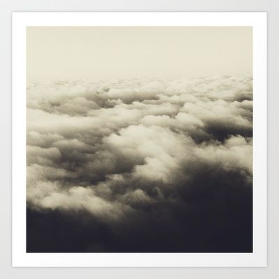 clouds Art Print by Laurenmarek - $15.00