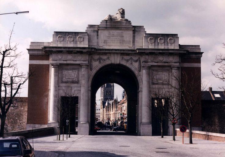 Ypres, Belgium  Menin Gate - memorial for WWI