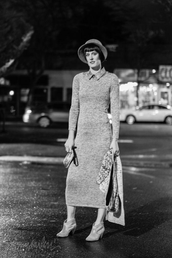 Artist Jamie Randall Seattle street style fashion Broadway Capitol Hill