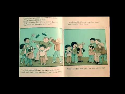 """""""Oliver Button is a sissy"""" by Tomie dePaola"""