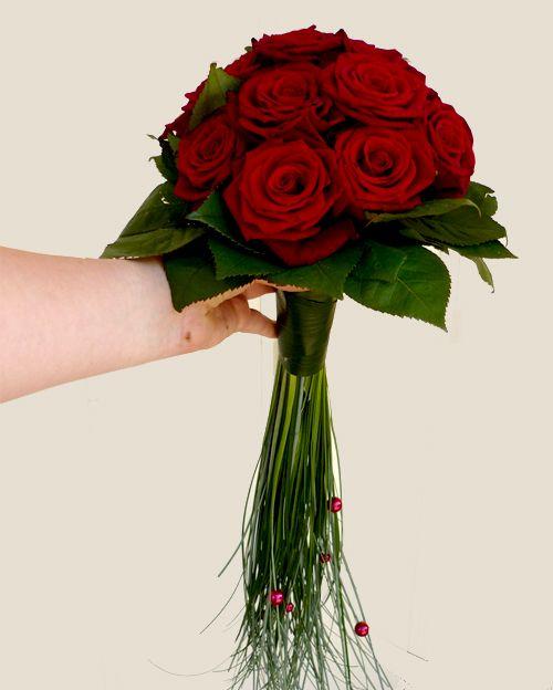 Creative Red Rose Bouquet - Le forum mariage - Robe de mariée - La mariée - Choix du bouquets de fleurs ?