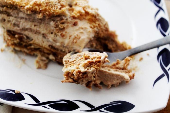 Portuguese Food: Bolo de Bolacha (sem manteiga/without butter)