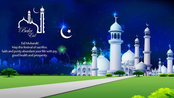 #EidMubarak!  May this festival of sacrifice, faith and purity abundant your life with joy, good health and prosperity.  #BringHomeFestival