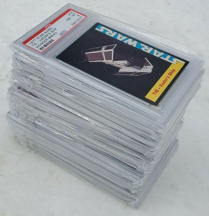1977 star wars wonder bread trading card set psa graded