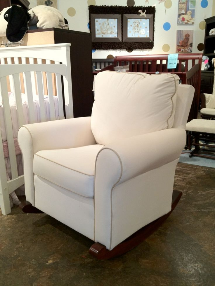 Glider Recliner With Ottoman For Nursery Thenurseries