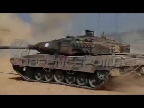 Greek Army Leopard 2HEL Training