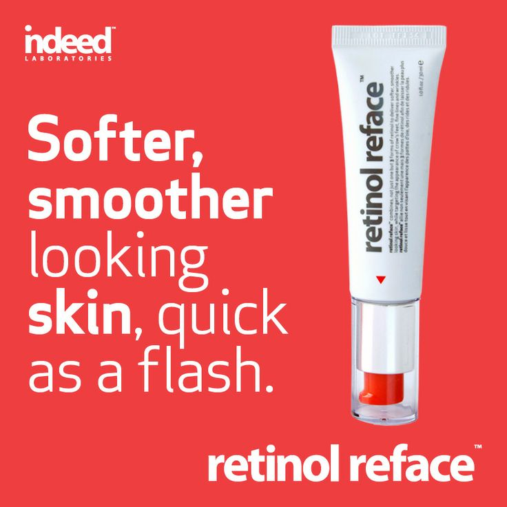 Softer, smoother looking skin, quick as a flash.