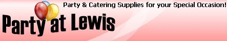 Party & Catering Supplies for your Special Occasion!- plastic ware that looks like china