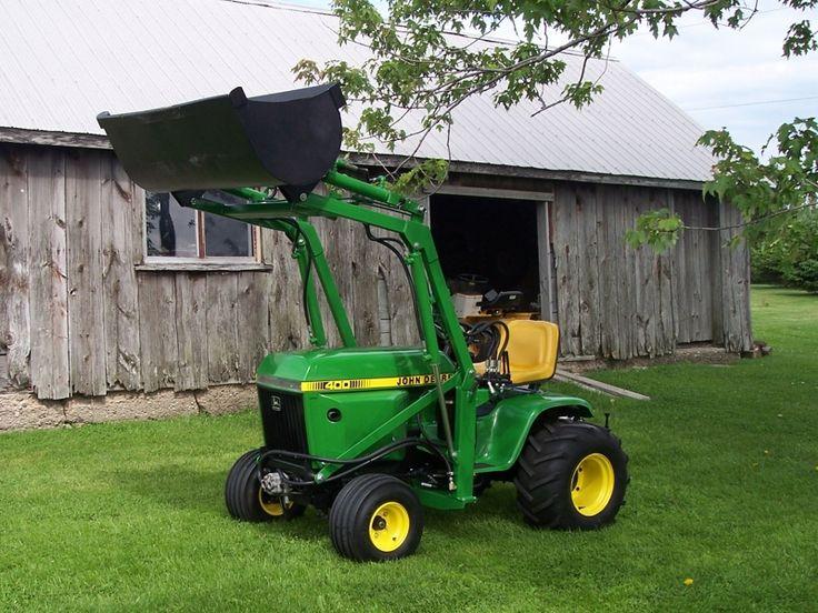 John Deere 400 Garden Tractor Attachments : John deere craigslist tractors autos post
