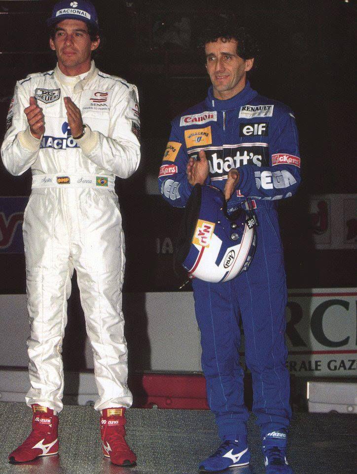 Ayrton Senna and Alain Prost - 1993