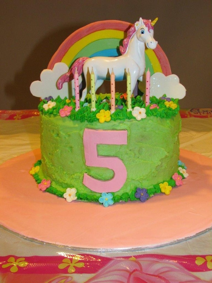 Unicorn birthday cake Cakes Pinterest Birthday cakes ...