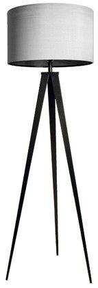 Tripod Gulvlampe - Grå - Tripod guldlampen er en elegant lampe med lange tynde ben. Den er inspireret af en gammel klassisker og passer godt ind i både det moderne såvel som det klassiske hjem. Med sine lange ben og enkle design er den en fryd for øjet.