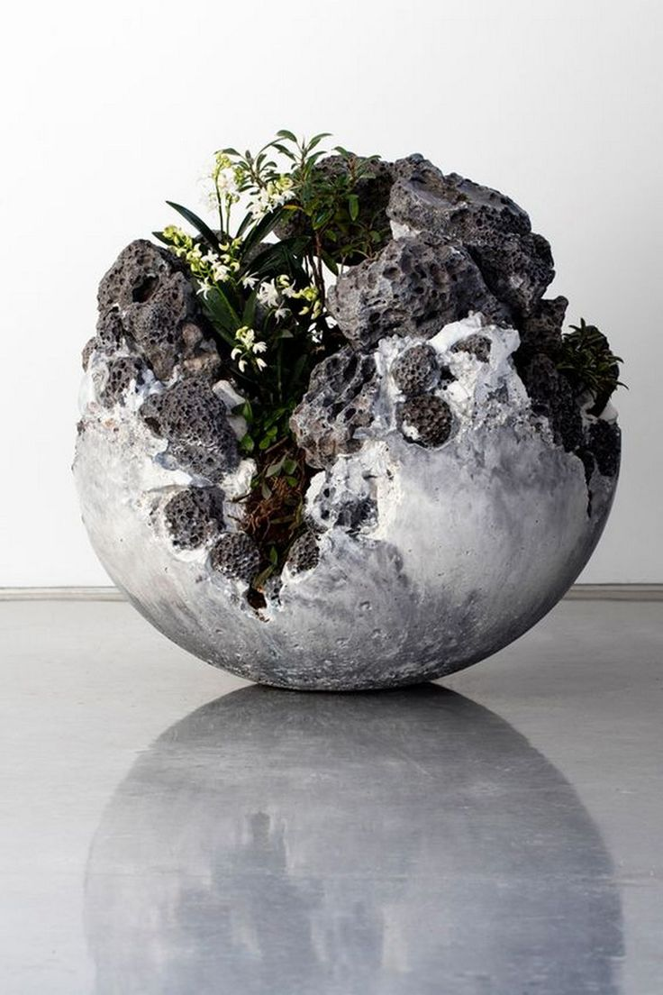 How to Make Cement Balloon Planters