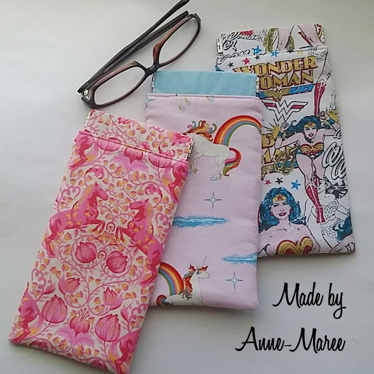 I would like to introduce a new product to my Etsy Store - Handmade Glasses Cases.