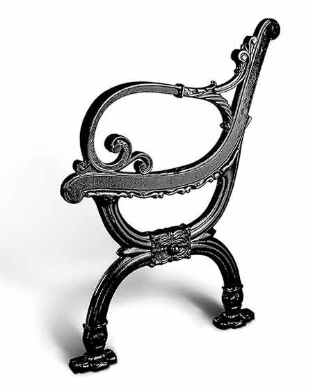 Victorian Park Bench Stanchion Cloud Nine Pinterest Parks Victorian And Style