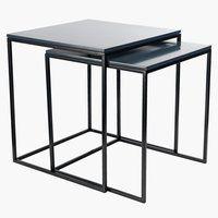 Settebord SANDBJERG 2 stk grå/svart