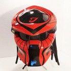 Alien Predator Helmet, Motorcycle Helmet (Handmade)
