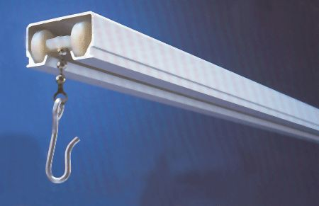 Cubicle Track - Ceiling Mount Curtain Track  $5.95Foot