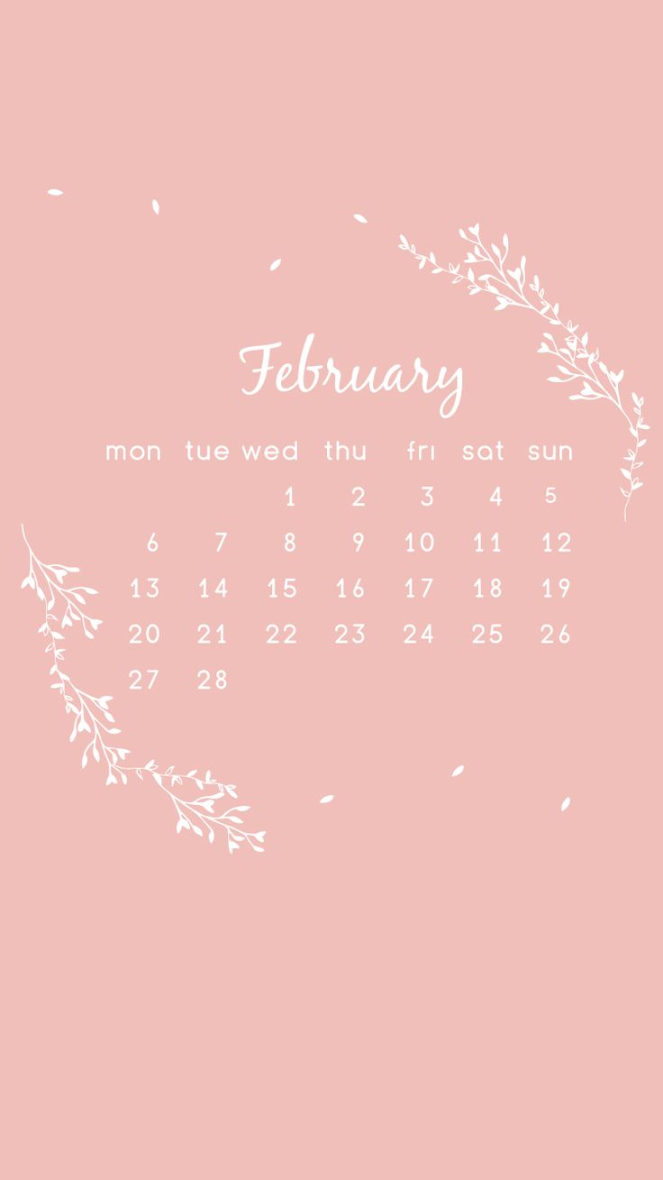 free February mobile phone wallpaper