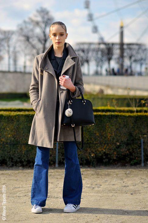 Paris – Olivia Jones. #AW16, #Fashion, #FashionWeek, #FW16, #Moda, #Mode, #Model, #ModelOffDuty, #OliviaJones, #Paris, #PFW, #Portrait, #Street, #StreetStyle, Style Photo © Wayne Tippetts