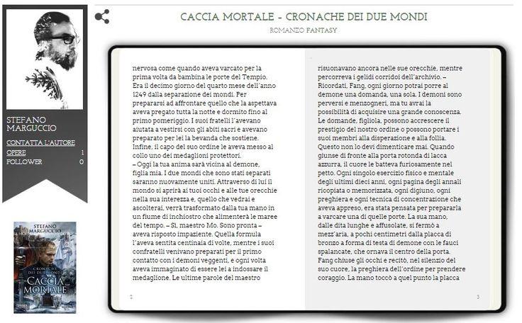 Da oggi anche su Penne Matte un #estratto del primo capitolo di Caccia Mortale! #fantasy #cacciamortale #pennematte http://www.pennematte.it/opera/caccia-mortale-cronache-dei-due-mondi/
