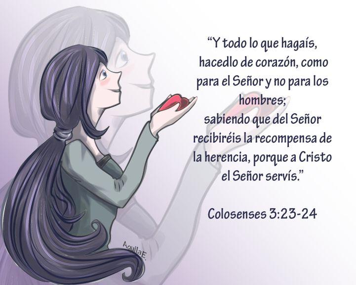 Colosenses 3: 23-24