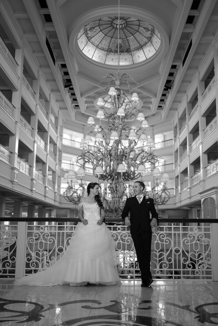 Weddings at disney parks and resorts - A Disney S Grand Floridian Resort Spa Portrait Session With Two Best