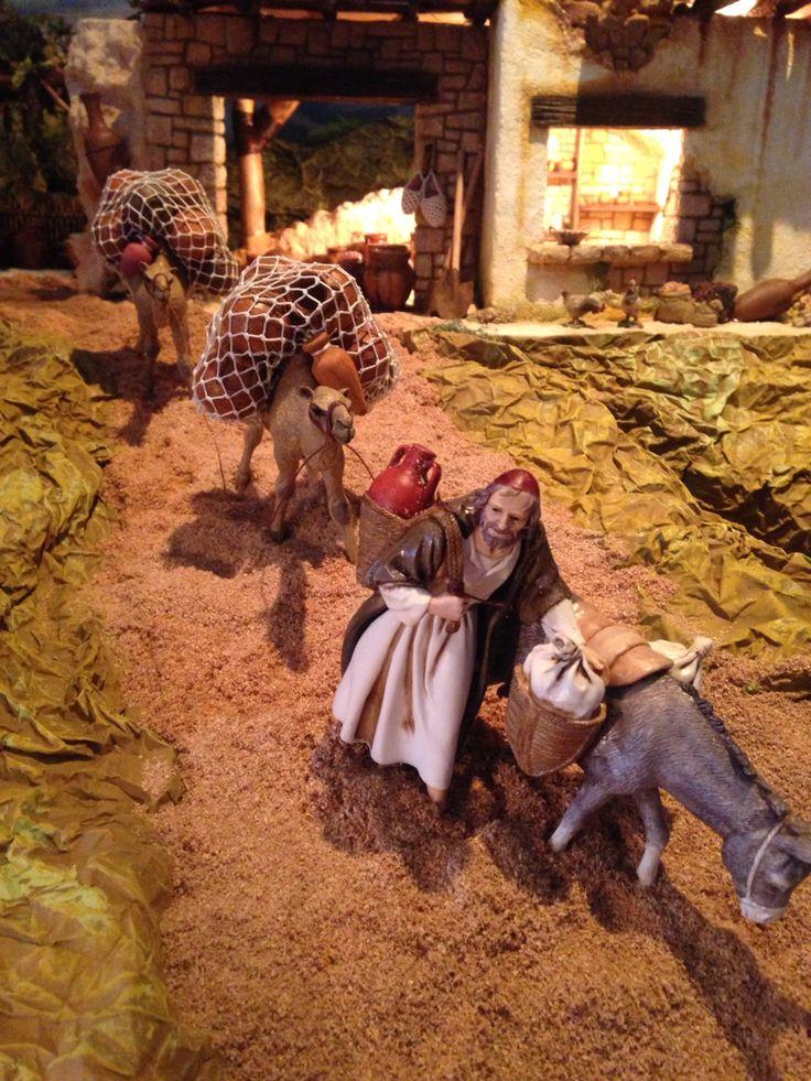 Camellos del Pesebre Bíblico. Liliana Castillo.