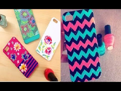 Easy Nail Polish Phone Case Designs To Bend Light