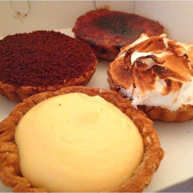 Bourke st bakery tarts! Yummmmm