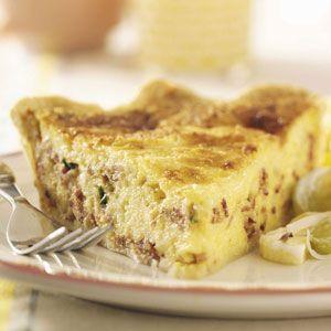 Bacon Quiche Recipe | Taste of Home Recipes