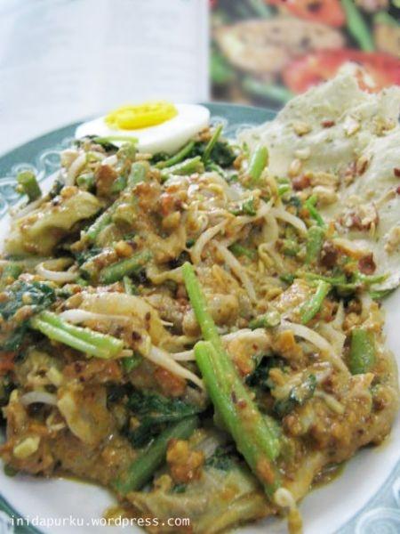 nasi pecel ~ Semarang, Indonesia
