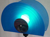 Stehlampe Schallplatte, Lampe, Design Standleuc...