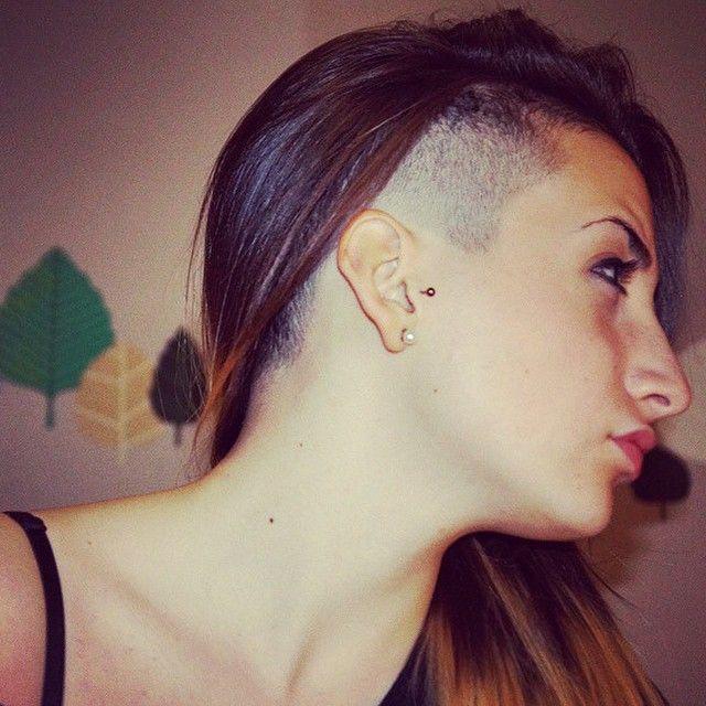 Tagli capelli sfoltiti