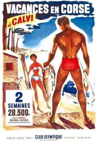 Vacances en Corse à Calvi - Club Olympique - France -