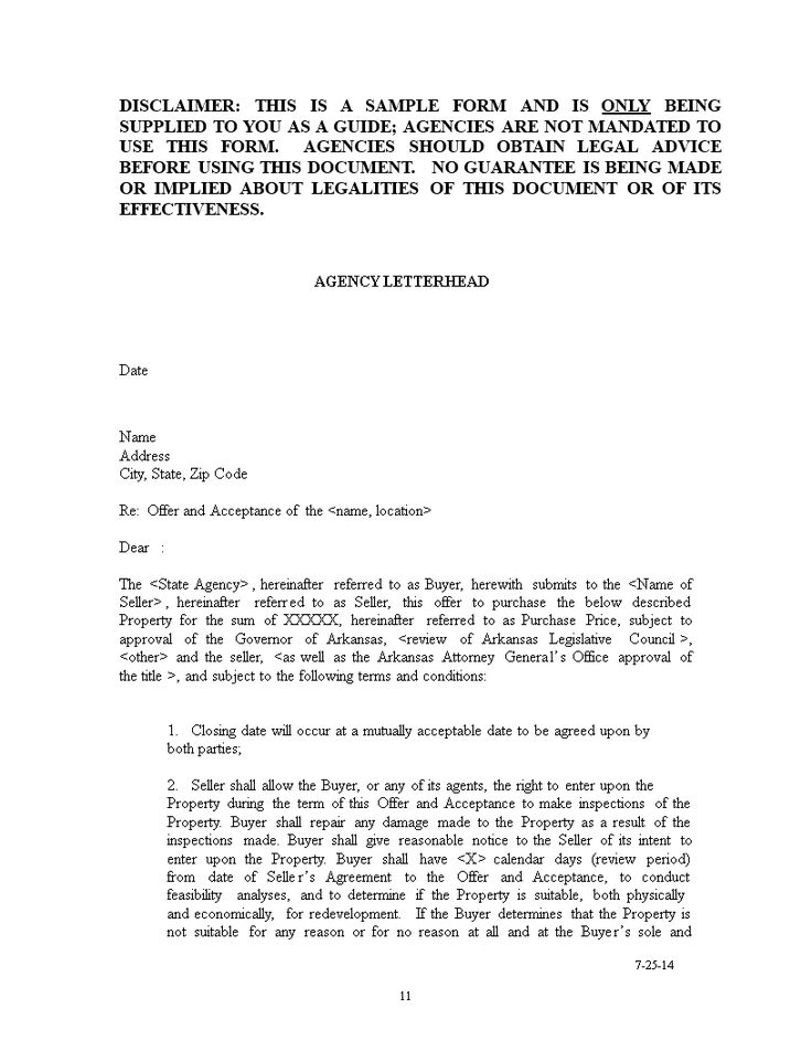 House Purchase Offer Confirmation Letter How to create a