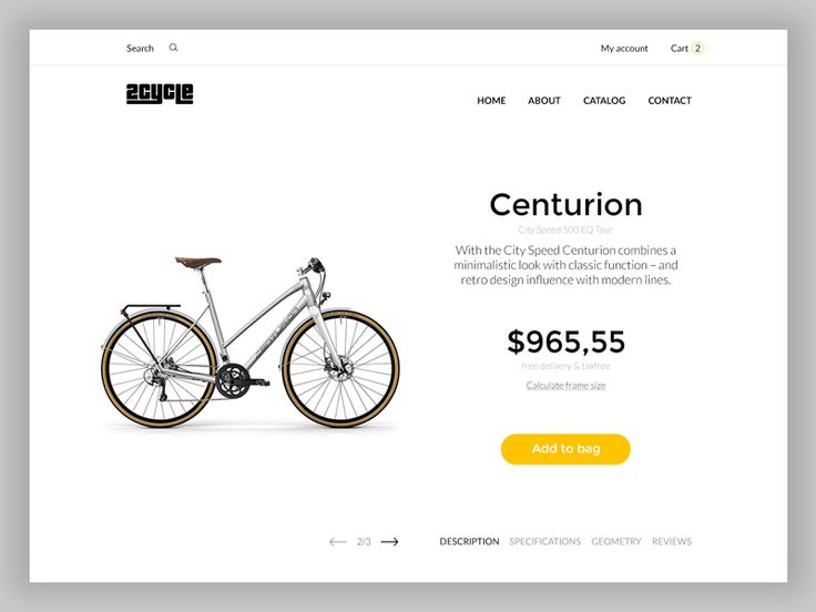 Products Page by inthink.studio