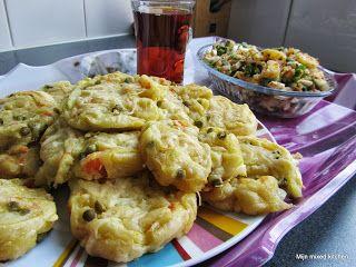 Sebzeli sarma börek (opgerolde börek met groenten) #Turkseten #Turkishfood