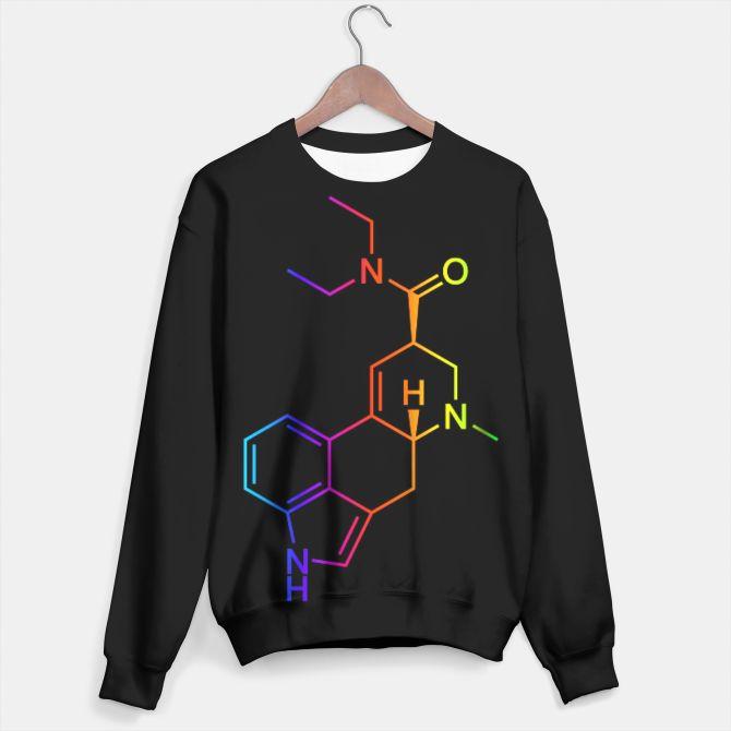 LSD Molecule Colored Sweater