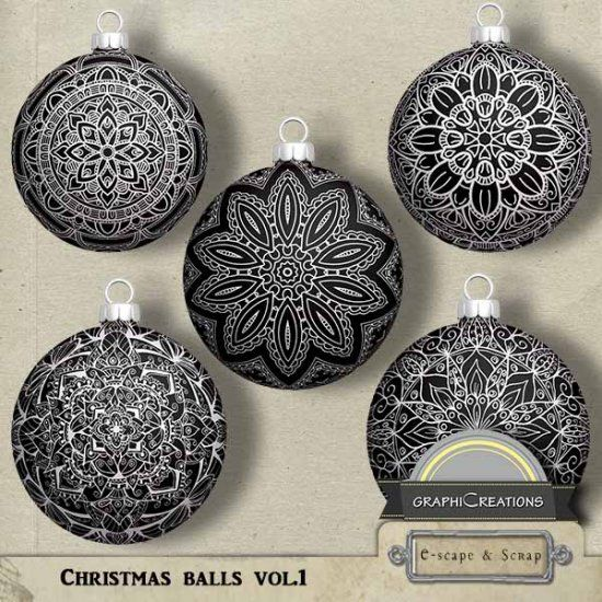 Christmas balls vol1 by Graphic Creations