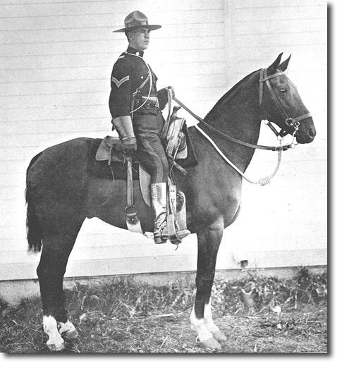British Empire: Armed Forces: Units: Royal Canadian Mounted Police