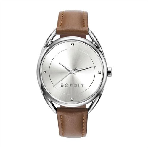 Elegante Esprit Uhr mit Lederarmband ES906552002 http://www.thejewellershop.com/ #esprit #uhr #lederarmband #watch #jewelry #uhren #schmuck #silver