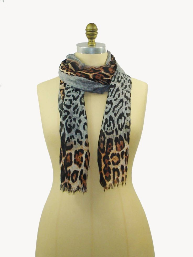 Animal Ombre Scarf
