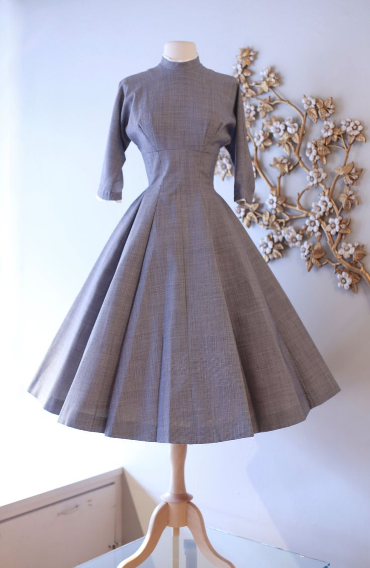 Vintage 1950 S New Look Dress By Jane Andre Vintage 50s