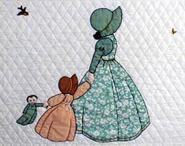 "MEG - ""Gentlewomen Bonnet Girls Relatives & Friends""  Amy (the child) for use with Meg $3.50.  Variation #1."