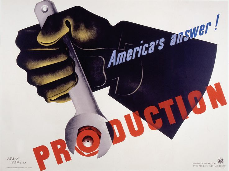 America's Answer: Production poster Charles Coiner Description Collections:  AIGA Medalists Discipline: Promotional design and advertising Format:  Posters ...