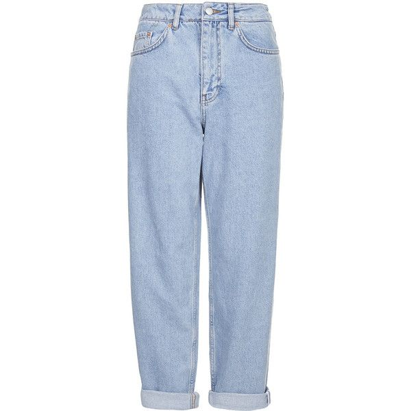 Vintage Jeans by Boutique ($105) ❤ liked on Polyvore featuring jeans, pants, bottoms, trousers, blue, rolled up jeans, boutique jeans, vintage jeans, straight leg jeans and blue jeans