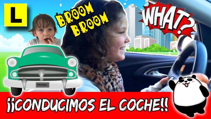 ¡¡APRENDEMOS a CONDUCIR el coche!!! * De PASEO con Juancho
