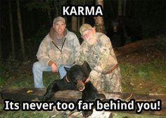 The way Karma works…