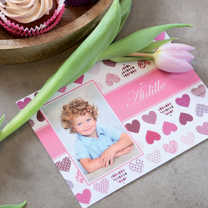 Mother's Day card | Design heart